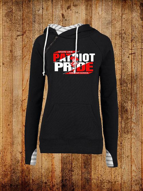 SLCS Spirit - Patriot Pride Ladies Double Hood