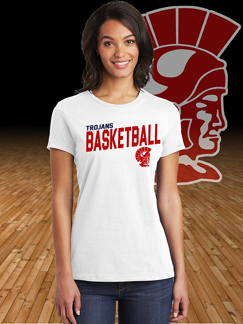 Monroe Basketball - Ladies Conert T-Shirt