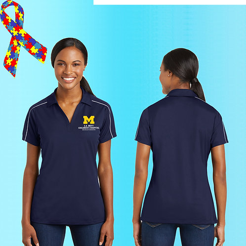 Ladies Embroidered C.S. Mott Childrens Hospital Polo
