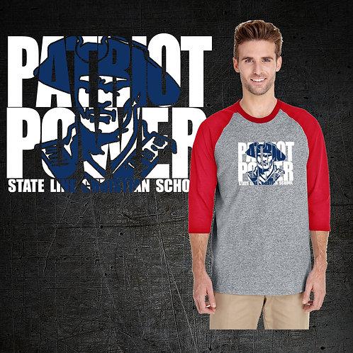 Patriot Power Baseball Tee