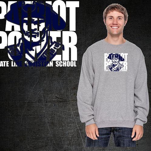 Patriot Power Crew Neck Sweatshirt
