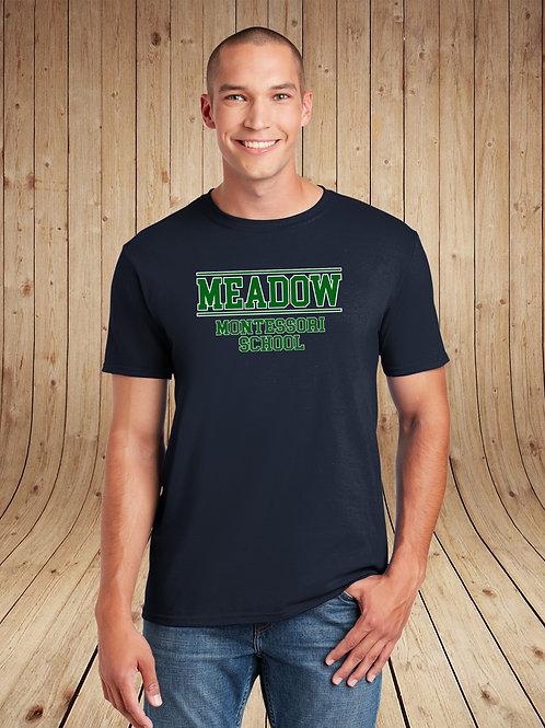 Meadow Montessori - Unisex T-Shirt - Collegiate Logo