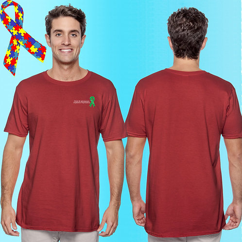 Extended Size 8 CAP Ribbon Left Chest Tee