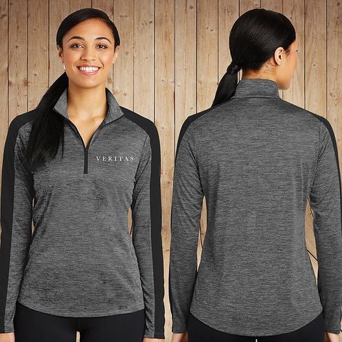 Ladies Heathered 1/4 Zip