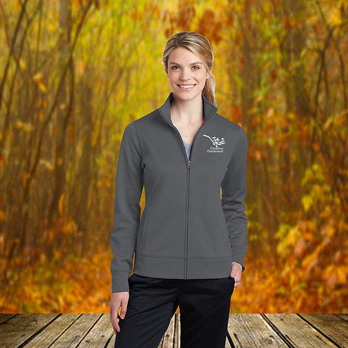 Ladies Sport Wick Full Zip Fleece Jacket