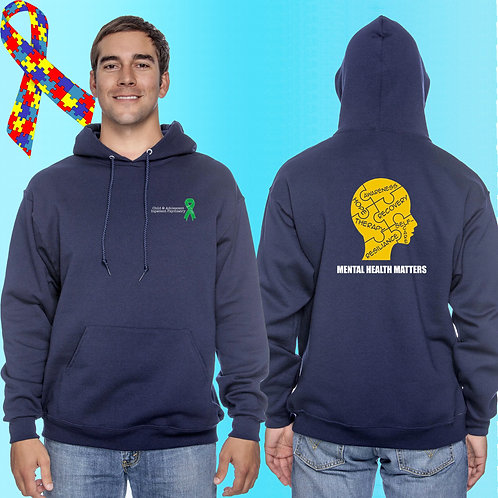 Extended Size 8 CAP Mental Health Matters Hoodie