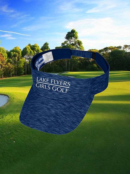 Lake Flyers Girls Golf - Embroidered Visor