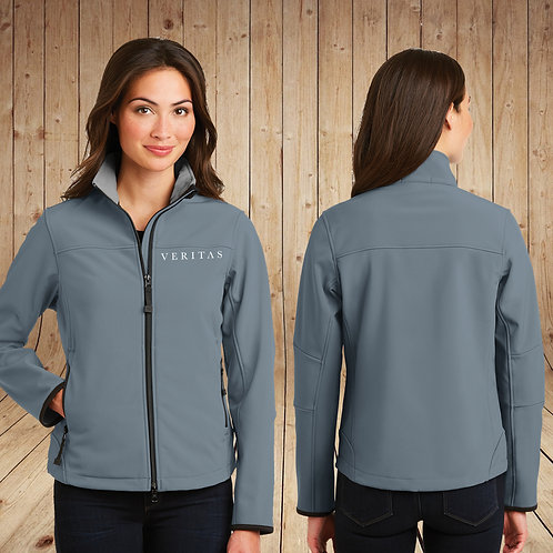Ladies Veritas Soft Shell Water Resistant Jacket