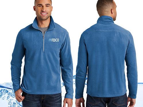 Men's Half Zip Fleece Pullover