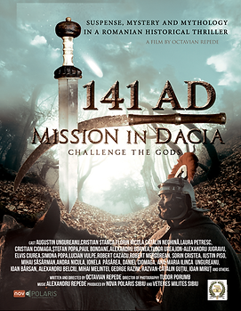 141 A.D. Mission in Dacia indie film review