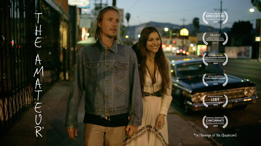 The Amateur: or (Revenge of the Quadricorn) indie film