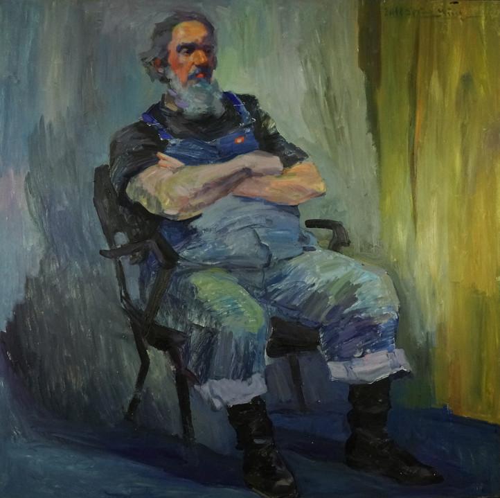 Dennis in  Blue Jean