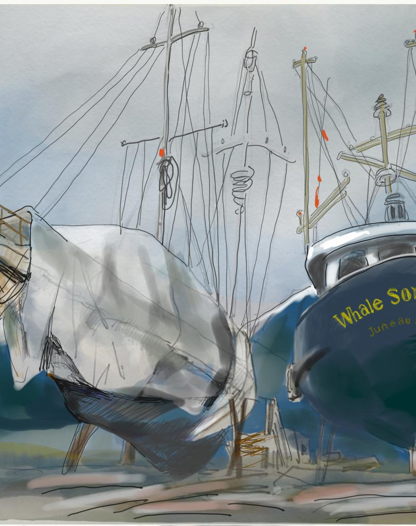 Fishing Boats-Alaska