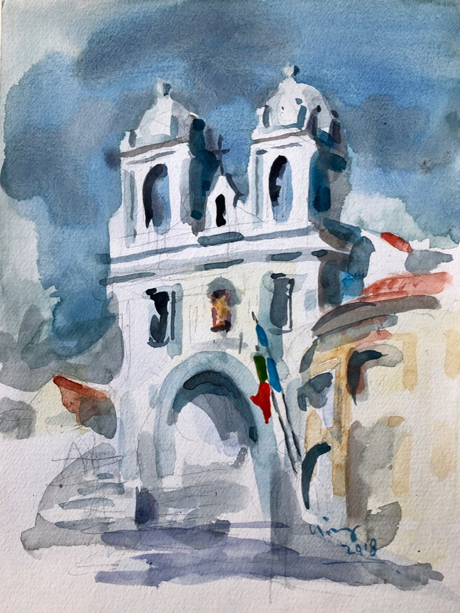 Blue Church - Terceira - Portugal