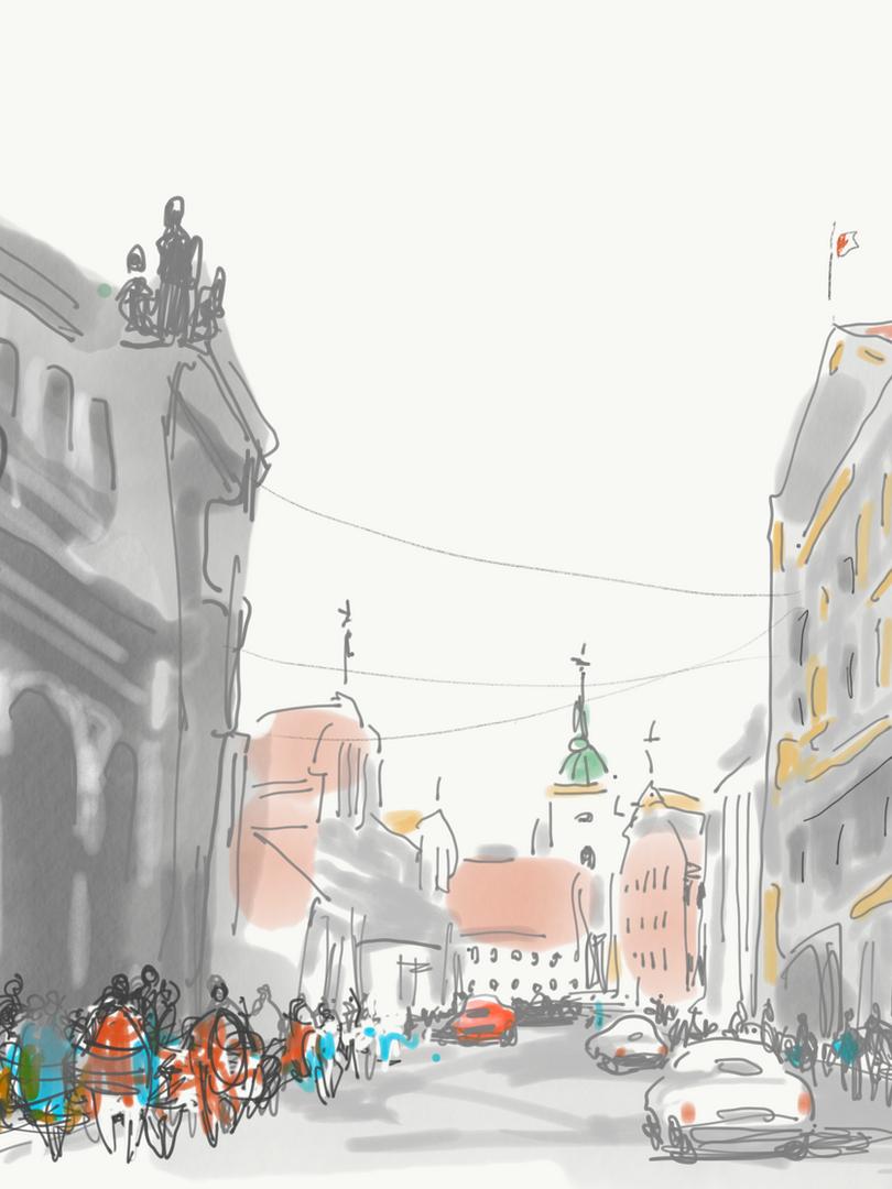 Poznan Main Street