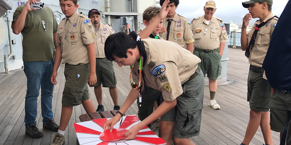 Battleship Missouri Premium Encampment Program - 3/29/19