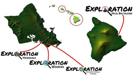 Exploration Scavenger Hunt Hawaii