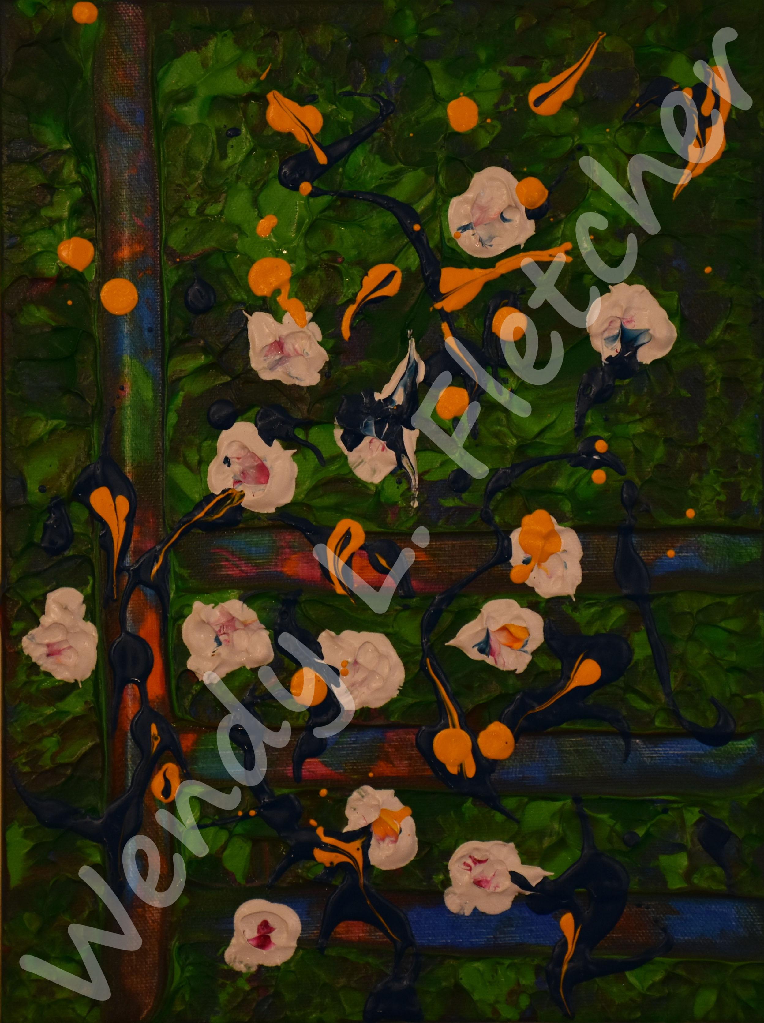 Study_Apple Blossoms