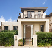 contemporary style villa