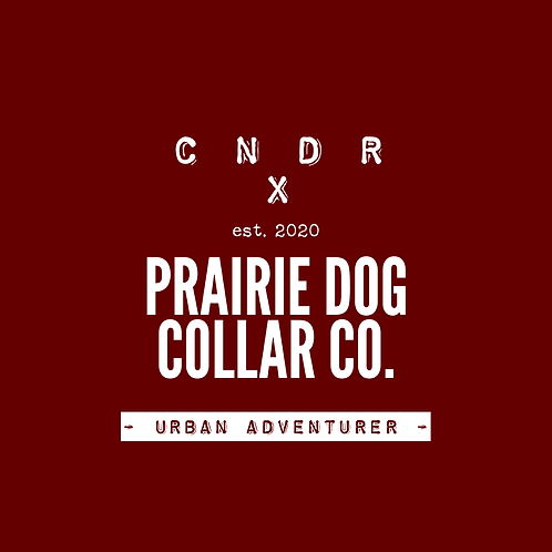 CNDR x Prairie Dog Collar Co - Urban Adventurer Leash