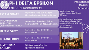 Fall 2021 Recruitment Application is Live!