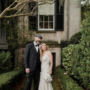 A Gatsby Style New Year's Eve Wedding   Savannah, GA