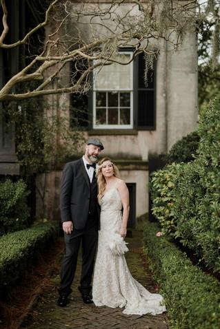A Gatsby Style New Year's Eve Wedding | Savannah, GA