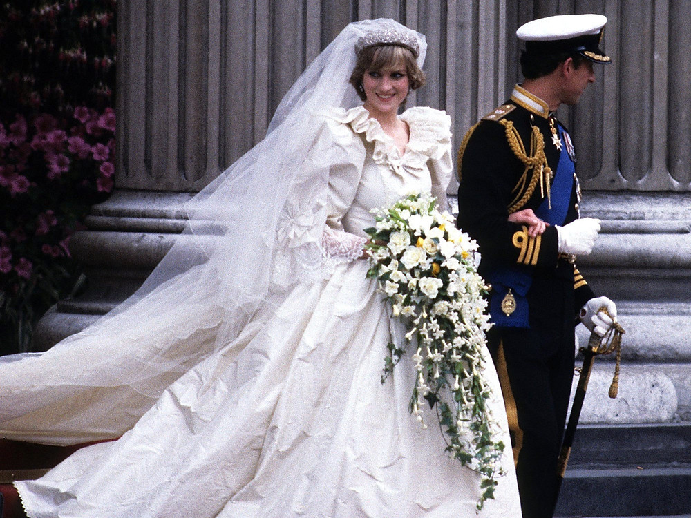 Princess Diana Wedding Style