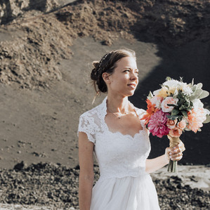 African Fogo Volcano Wedding, in Charming Cape Verde