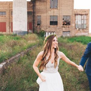 Urban Meets Rustic Minnesota Wedding