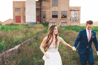 Urban Meets Rustic Minnesota Wedding