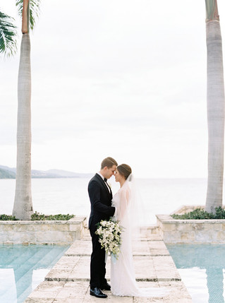 A Chic and Classic Montego Bay Wedding at Round Hill Villas