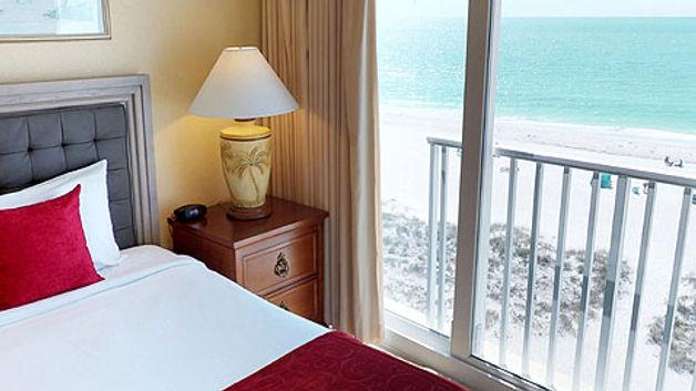 Ocean View from Room 615 Bedroom