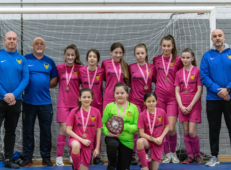 Girls U12 Blues Win Thrilling WCYL Futsal Final!