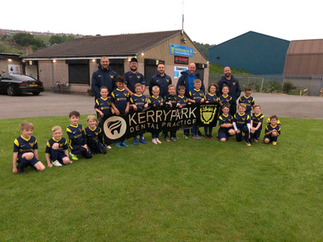 All smiles from our U7 thanks to KERRYPARK DENTAL