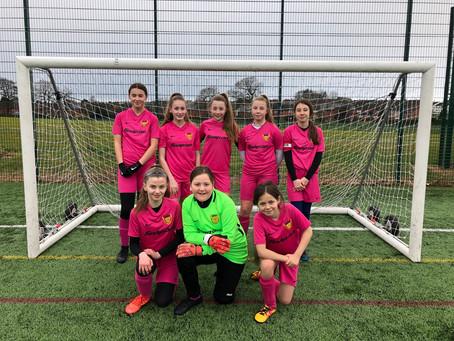 U12 Girls Through To County Cup Semi Final!!