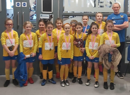 U9 Girls Victorious in Futsal Final!!