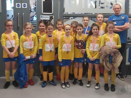 U9 Girls Victorious in Futsal Final!!
