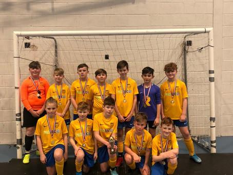 U11's Retain Futsal Cup