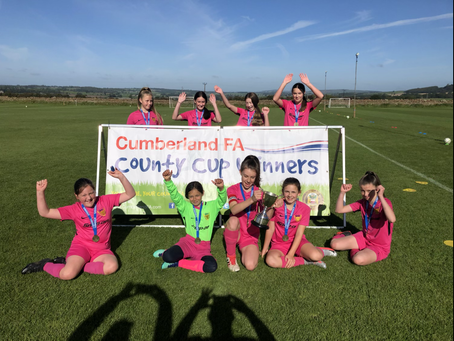 U12 Girls Make History With County Cup Final Win!