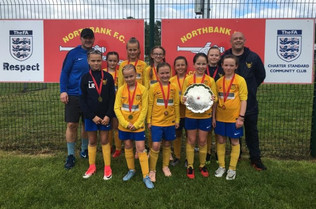 Clean sweep for the girls at Northbank FC!