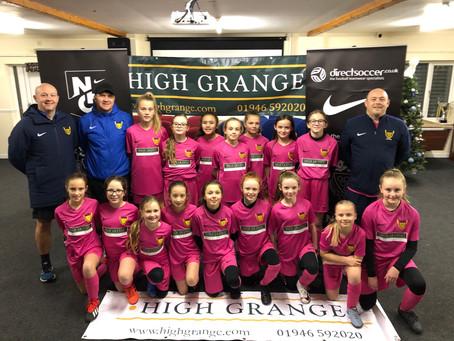 U11 Girls Progress To County Cup Semi Final!!