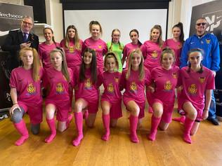 New sponsor for Whitehaven AFC Under 14 Girls!!!