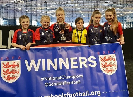 U12 Girls Crowned National Champions In School Competition!!