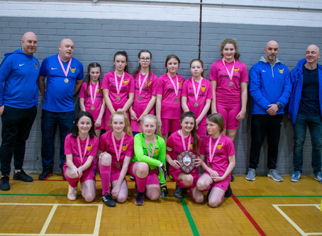 U12 Girls Yellows Win League In Tight Affair!!