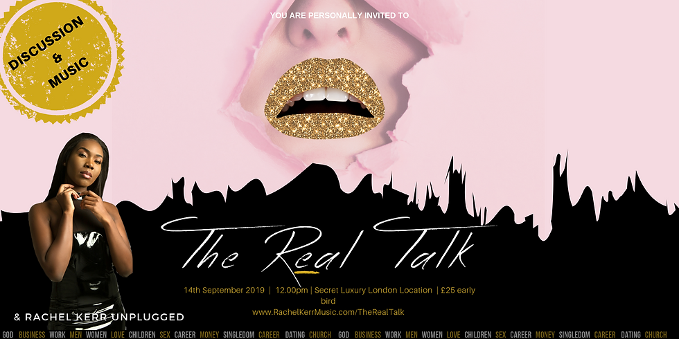 The Real Talk (September Edition)