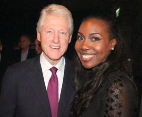 Rachel Sings for US President