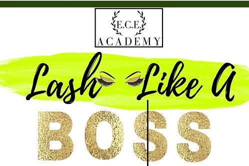 Lash Like A Boss Training