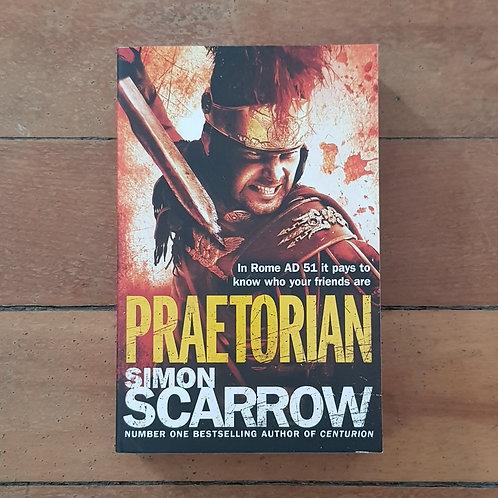 Praetorian by Simon Scarrow (soft cover, v good condition)