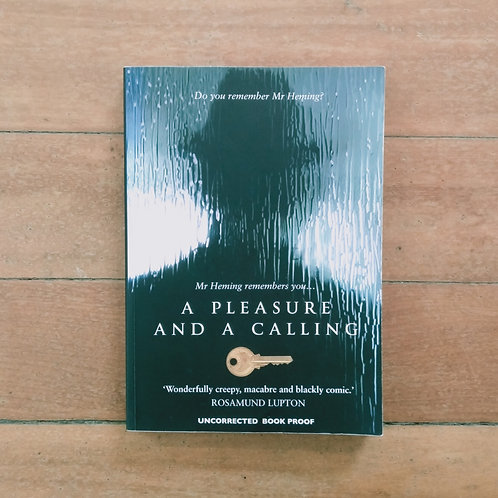A Pleasure and a Calling by Phil Hogan (soft cover, good condition)